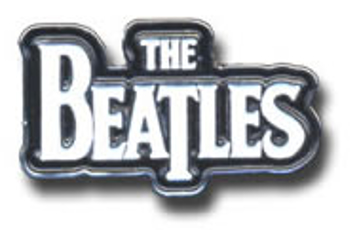 Picture of Beatles Pins: The Beatles Classic logo pin-small