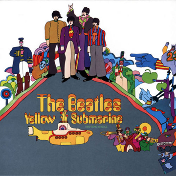 Picture of Beatles CD Yellow Submarine Songtrack Album