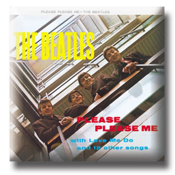 "Picture of Beatles Pin: Beatles ""Please Please Me"""