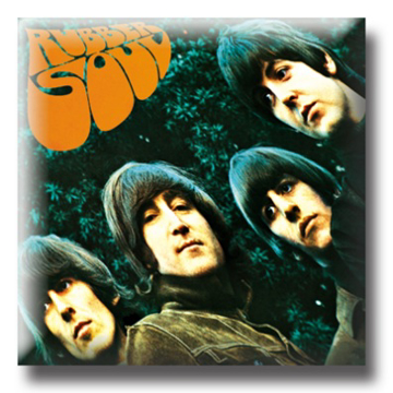 Picture of Beatles Pins: The Beatles Rubber Soul Album flat pin