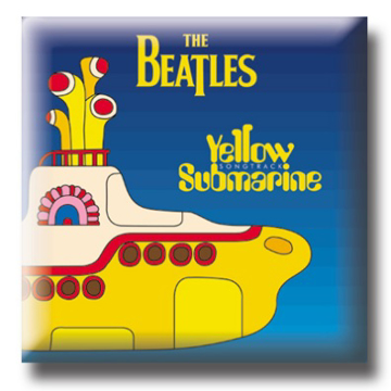 Picture of Beatles Pin: The Beatles Yellow Submarine flat pin
