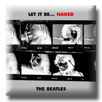 "Picture of Beatles Pin: The Beatles ""Let it Be Naked "" flat pin"