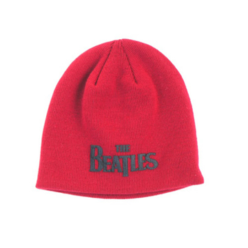 Picture of Beatles Beanie: Drop T Logo Red