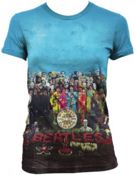 Picture of Beatles T-Shirt: The Beatles Sgt. Pepper's Sublimation Junior Shirt