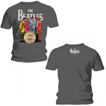 Picture of Beatles T-Shirt: SGT Pepper Outfits XL-Adult-Size