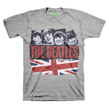 Picture of Beatles Adult T-Shirt: Pieced Together
