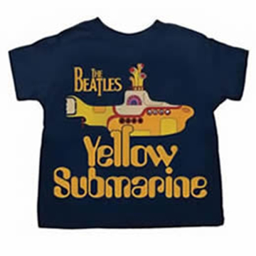 Picture of Beatles T-Shirt: BeatlesToddler Yellow Sub in the Navy