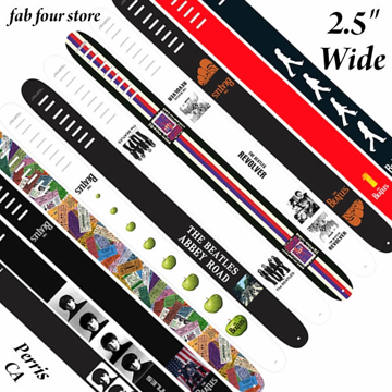 Picture of Beatles Guitar Straps: The Beatles 2.5 Inch Wide Straps