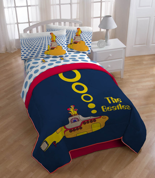 Picture of Beatles Sheets: Yellow Submarine Twin Set