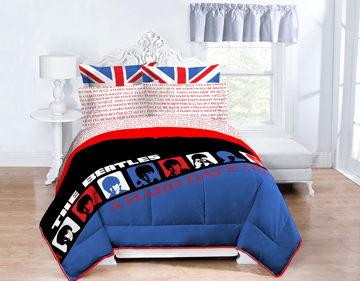 Picture of Beatles Sheets: A Hard Day's Night - Queen-Full-Twin