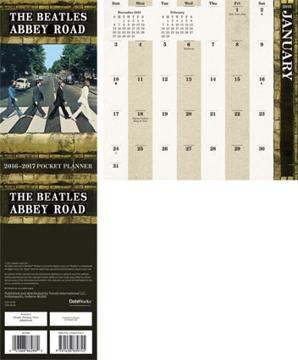 Picture of Beatles Planner: Abbey Road 2016 Planner