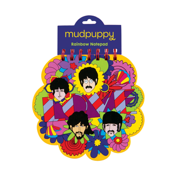 Picture of Beatles Notebook: The Beatles Yellow Submarine Rainbow Notepad