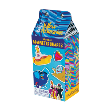 Picture of Beatles Yellow Submarine Magnetic Shapes: The Beatles Yellow Submarine Magnetic Shapes