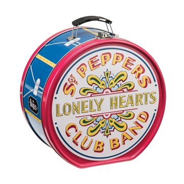 Picture of Beatles Lunch Box: Drum Shaped Sgt Pepper