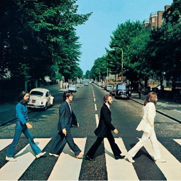 "Picture of Beatles Sign:  ""Abbey Road"" Album Cover"