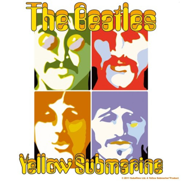 Picture of Beatles Patches: Yellow Submarine Sea of Science