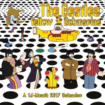 Picture of Beatles Calendar: 2017 Yellow Submarine Wall Calendar