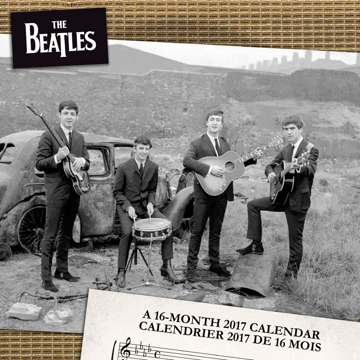 Picture of Beatles Calendar: 2017 Wall Calendar  (Bilingual FRE)