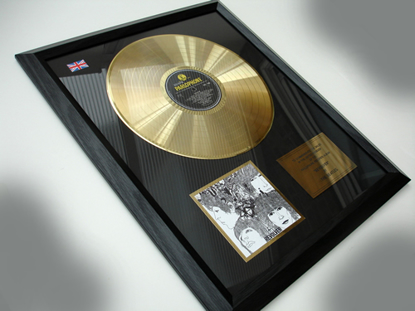 "Picture of Beatles Record Award: ""REVOLVER"""