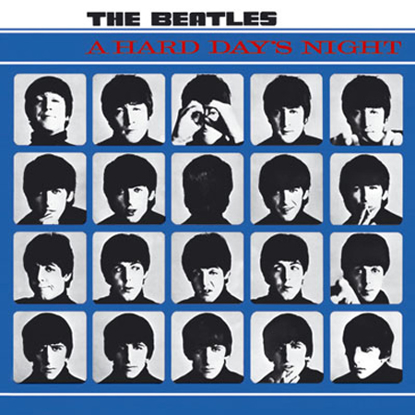 Picture of Beatles Greeting Card: A Hard Day's Night Album