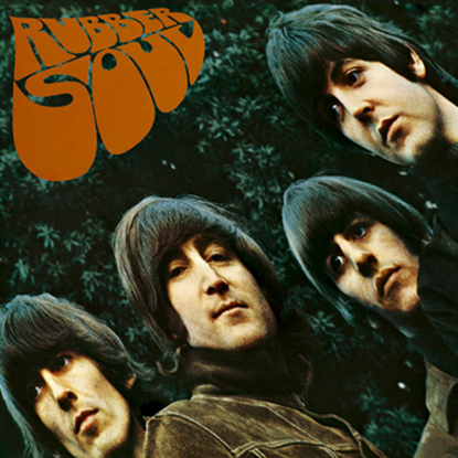 Picture of Beatles Greeting Card: Rubber Soul Album