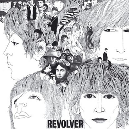 Picture of Beatles Greeting Card: Revolver Album