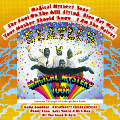Picture of Beatles Greeting Card: Magical Mystery Tour Album