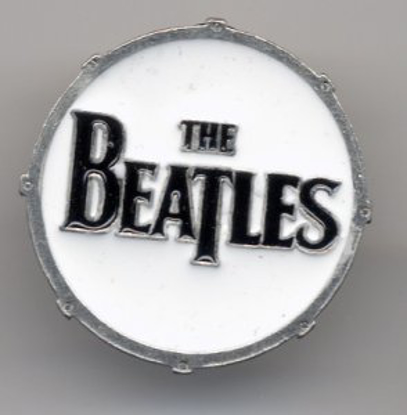 "Picture of Beatles Pins: The Beatles ""Drum"" small pin"