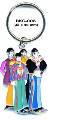 Picture of Beatles Keychain: The Beatles Fab Four Key Chain