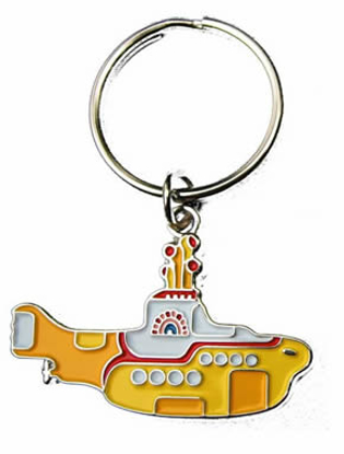 Picture of Beatles Keychain: The Beatles Yellow Sub Keychain