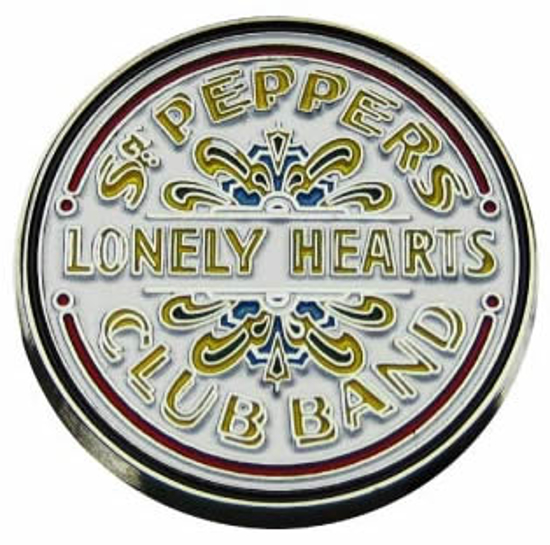 Picture of Beatles Pins: Sgt. Pepper's Lonely Hearts Club Band pin