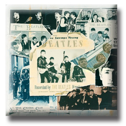 Picture of Beatles Pins: The Beatles Anthology 1 flat pin