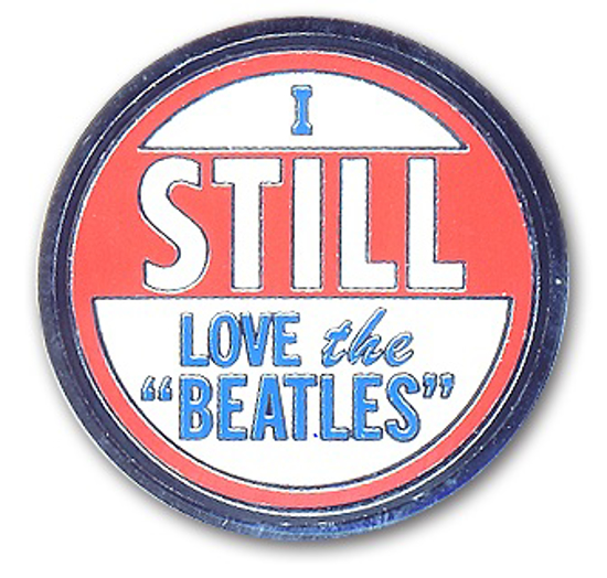 "Picture of Beatles Pin: The Beatles ""I Still Love The Beatles"" pin"