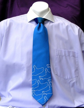 Picture of Beatles Tie: The Beatles Blue Yellow Submarine