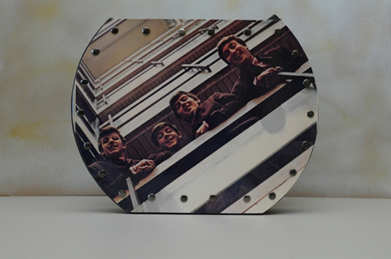 Picture of Beatles Original Record Purse/Bag:The Beatles - 1962-1966