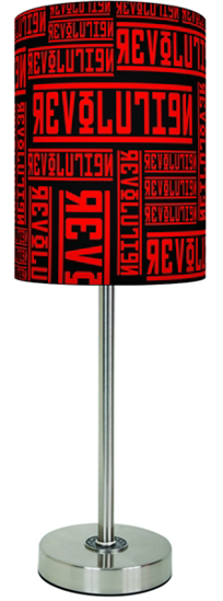 Beatles Lamp Shades: Revolution Cover Lamp -Beatles Fab Four Store ...