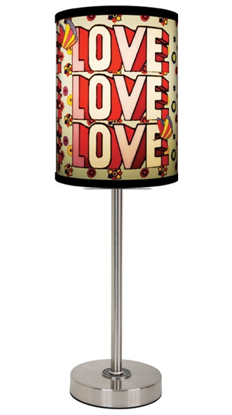 Picture of Beatles Lamp Shades: Love Love Love
