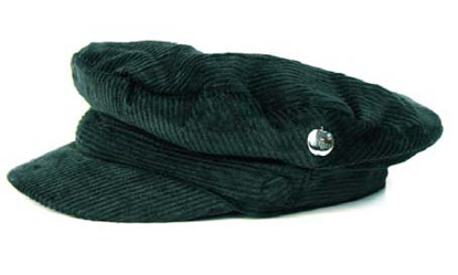 Picture of Beatles Cap: Cord Hat  ( Silver apple)