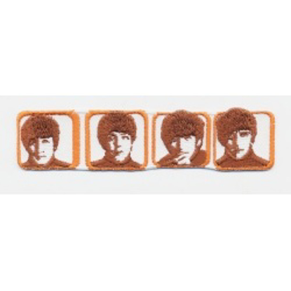 Picture of Beatles Patches: In Frames (Help)