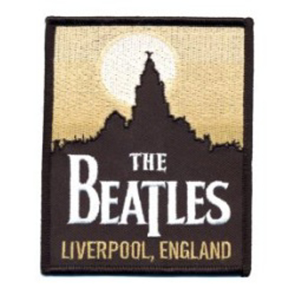Picture of Beatles Patches:Beatles Liverpool Skyline