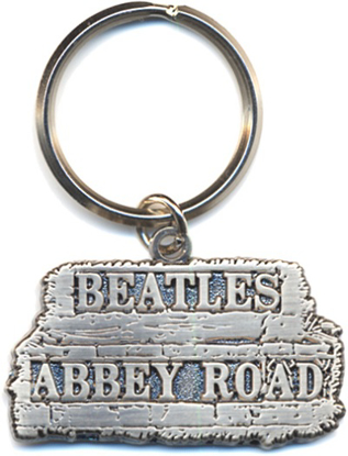 "Picture of Beatles Key Chain: The Beatles ""Abbey Road""  Street Sign"