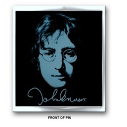 Picture of Beatles Pins: John Lennon Blue Flat Pin