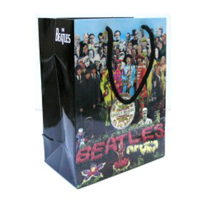 Picture of Beatles Gift Bags: The Beatles 3 Styles  GIFT Bag:The Beatles - Sgt Pepper