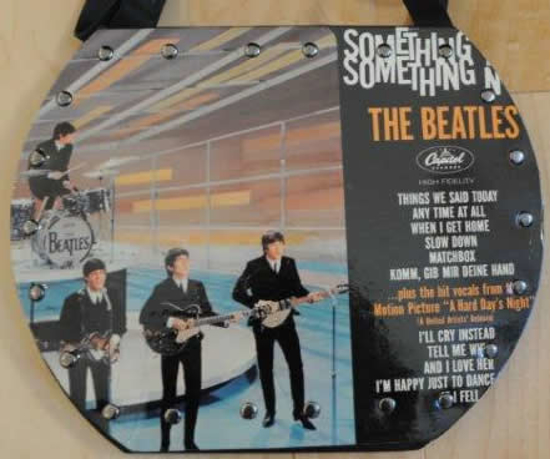 Picture of Beatles Original Record Purse/Bag:The Beatles - Something New
