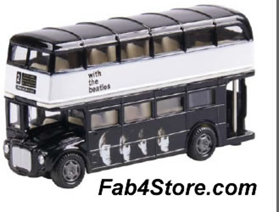Beatles London Bus -Beatles Fab Four Store Exclusively ...