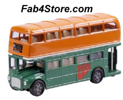 "Picture of Beatles Toy: ""Rubber Soul"" Dbl Decker Bus"