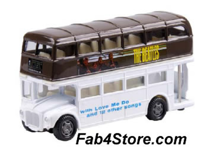 "Picture of Beatles Toy: ""Please Please Me"" Dbl Decker Bus"