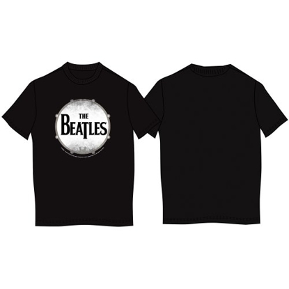 "Picture of Beatles T-Shirt: The Beatles ""Drumskin"" UK IMPORT"