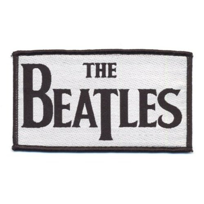 Picture of Beatles Patches: Drop T Logo (Woven Print)