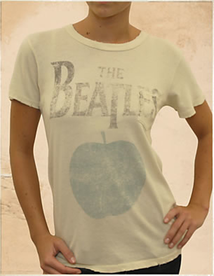 Picture of Beatles T-Shirt: The Beatles Women's Classic Apple Tee